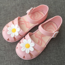 Girls Sandals Summer Kids Shoes Jelly Rubber Beach Sandals 2