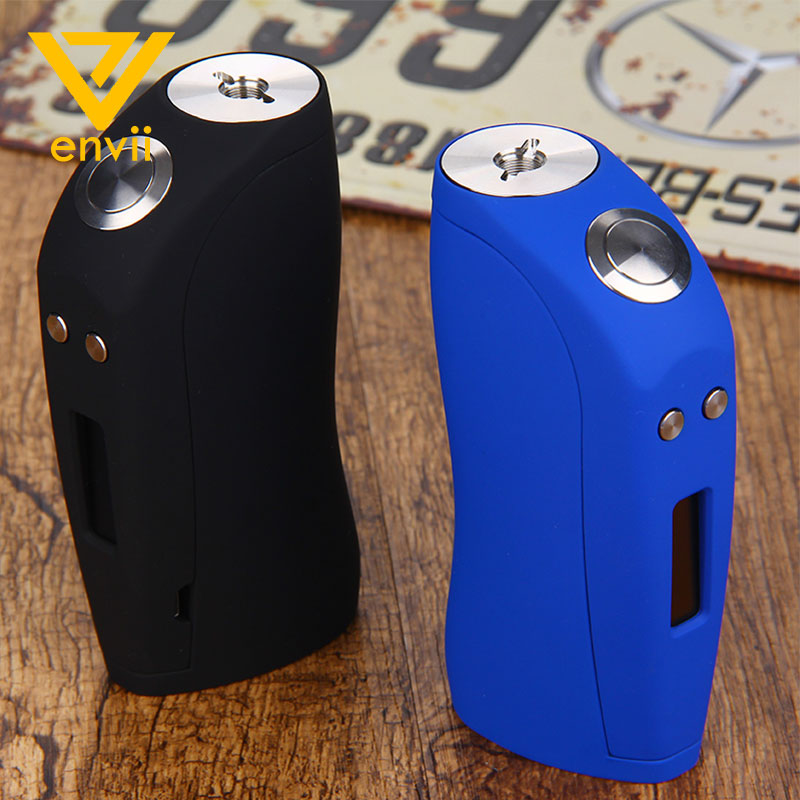 Original 150W Envii Loch Ness TC Box Mod Powered By Dual 18650 Batteries Huge Power Long Time Vaping No Battery E-cigarette Mod perseus 150w tc box mod