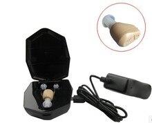 Recargable mini audífonos amplificador ZD-900D hecho en China amplificador de sonido del oído audífonos audífono recargable