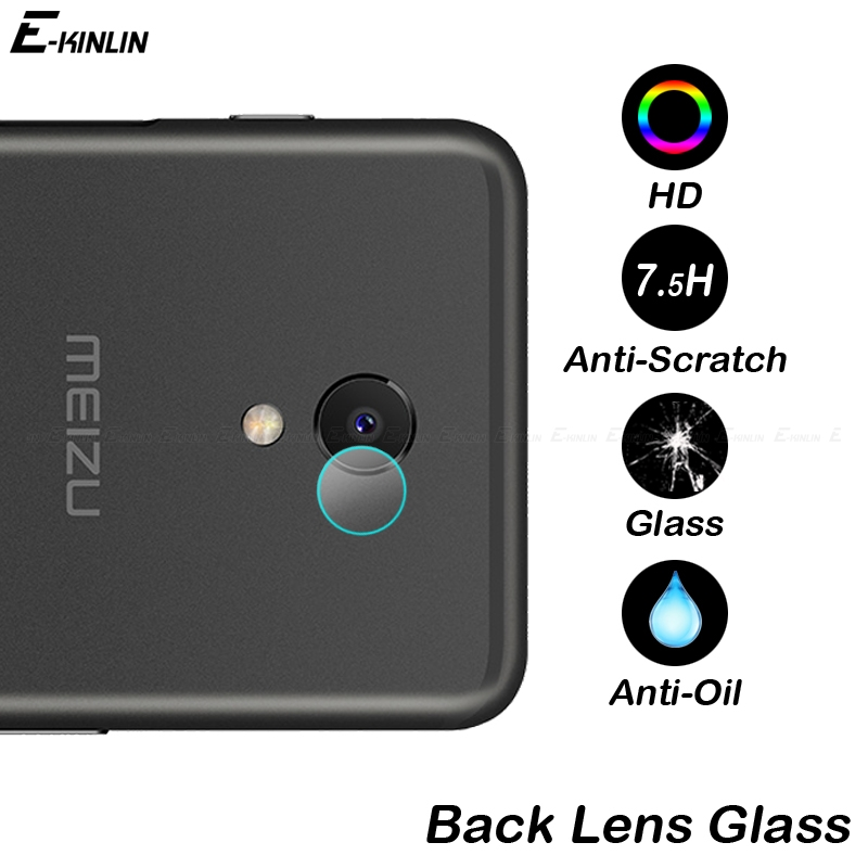 Back <font><b>Camera</b></font> Lens Screen Protector Protective Film Tempered Glass For <font><b>MeiZu</b></font> MX5 MX5e M3e <font><b>M3S</b></font> M3x M5c M8c M5S M6s MX6 U10 U20 image