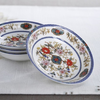 christmas Guci 16 pieces of Chinese dishes set new bone ceramic tableware bowls dishes simple household gift