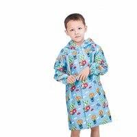 BP Детская куртка с капюшоном дети девочка мальчик Дождевик Пончо непромокаемый чехол мультфильм шар печати Тур дождевики