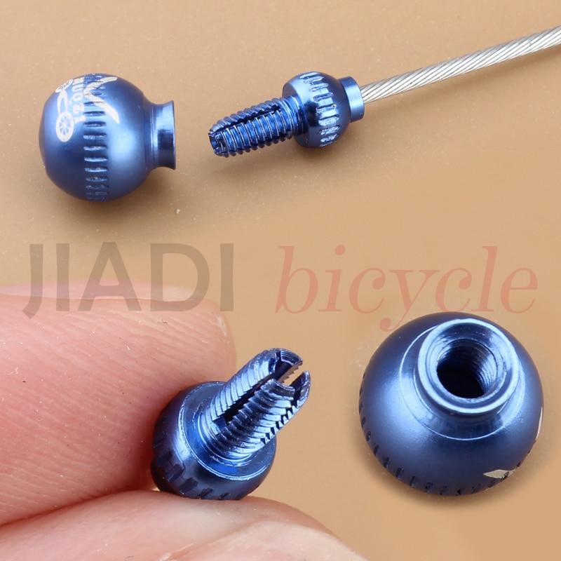 30Pcs Bicycle  Brake Wire End Core Cap Cable Aluminum Cover Gear Bike Parts B1