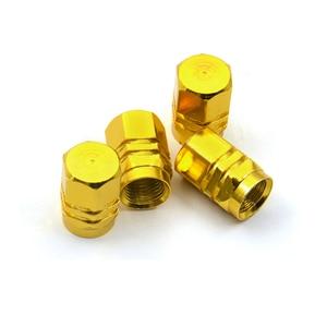 Image 2 - Fábrica de venda quente capa pneus válvulas haste do pneu tampas ar hermético novo 4 unidades/pacote theftproof roda de alumínio do carro com melhor preço