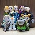 Hot Olaf Plush Toys Princess Olaf Sven Favor Elsa Anna Kristoff Trolls Favor Brinquedo Stuffed Dolls