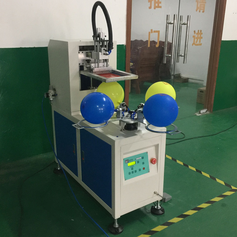 balloon screen printing machine, balloon screen printer, screen printing machine for latex balloons automatic balloon printing machine balloons silk printing machine balloons serigraphy machine