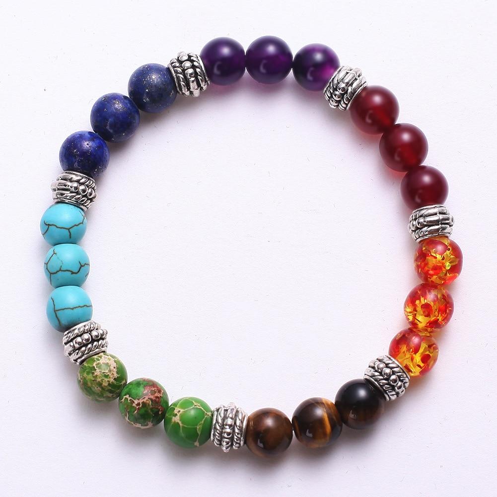 Mixed Gemstone Chakra Bracelet 3
