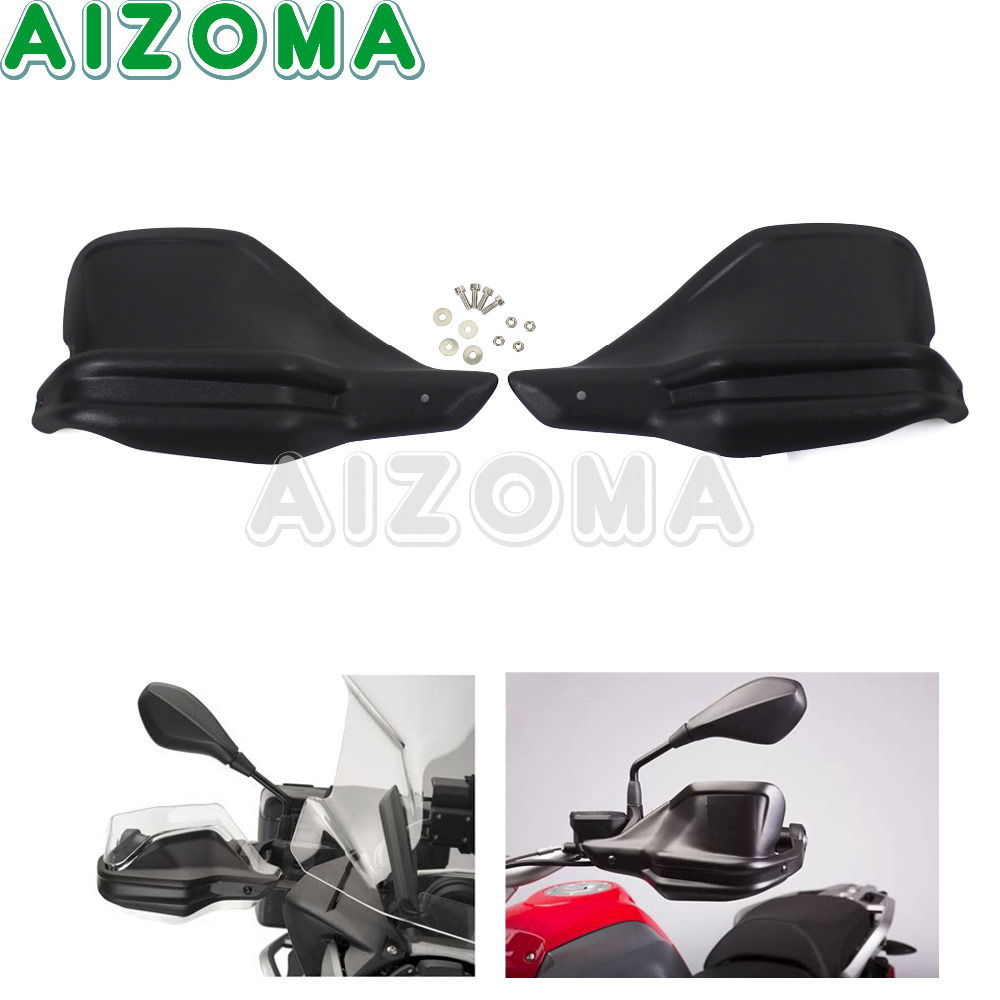 Plastic Motorcycle Handguards Hand Protection Black High Quality Hand Guard Cover Kit For BMW F800GS R1200GS (lc) ADV 2013-2018 все цены