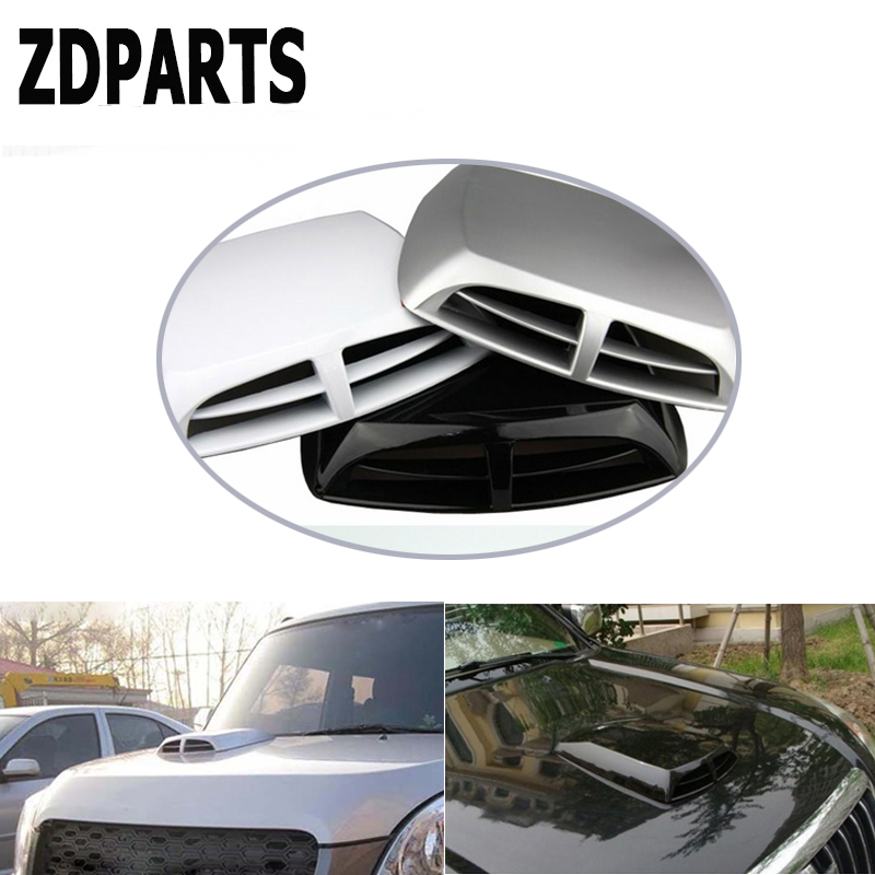 ZDPARTS Car 2 Style Front Engine Hood Air Vent Trim Cover Sticker For Toyota Corolla Avensis Rav4 c-hr Volkswagen VW Passat B6