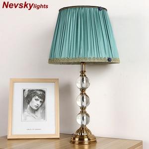 Desk Table Lamp crystal K9 hom