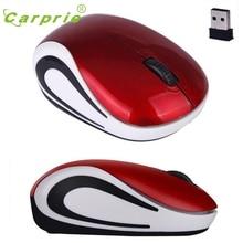 CARPRIE беспроводная мышь милый мини 2000 dpi оптический Компьютер Беспроводные Мыши для ПК ноутбук Jan18