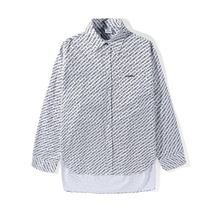Best Version 18SS Vetements Full Logo Printed Women Men Oversized Shirt