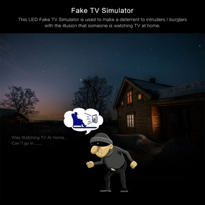 Image 5 - LED TV محاكاة وهمية التلفزيون لص رادع مكافحة لص جهاز أمن الوطن مع وظيفة الموقت