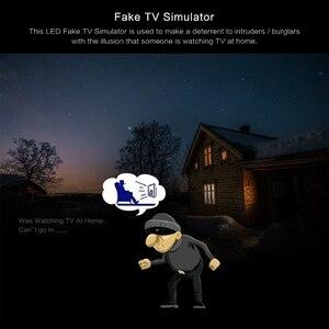 Image 5 - LED טלוויזיה מזויף סימולטור טלוויזיה פורץ הרתעה נגד פורץ אבטחת בית מכשיר עם פונקצית טיימר