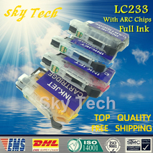 Full Ink refill cartridge suit for Brother LC233 ,LC-233 For Brother J562DW J480DW J680DW J880DW J4620DW J5720D J5320DW J4120DW