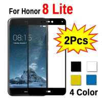 2pcs Glass For Huawei Honor 8 Lite light Protective Tempered Safety Glass On Honor 8 Honor8 Lite light 8lite Screen Protector