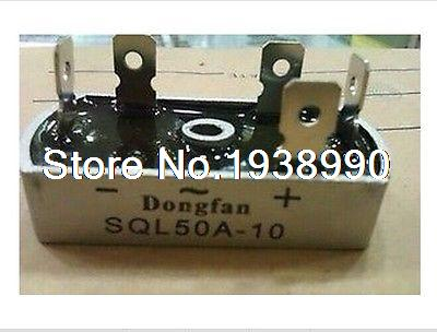 1PC Bridge Rectifier 3 Phase Diode 50A Amp 1000V SQL50A NEW ноутбук asus x751ldv ty140h 17 3 intel core i3 4030u 1 9 ghz 4gb 1tb hdd 90nb04i1 m02120