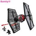 [Bainily] Новый Star Wars TIE Fighter Строительные Блоки Устанавливает Рождественский Подарок Игрушки Совместимость Legoe Звездные Войны 75101