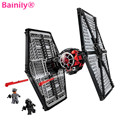 [Bainily]New Star Wars TIE Fighter Building Blocks Sets Christmas Gift Toy Compatible Legoe Starwars 75101