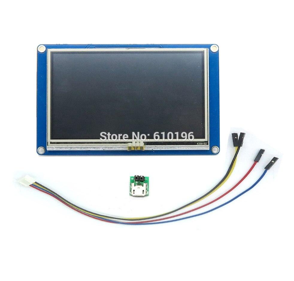 Nextion 4.3 ''HMI TFT Tactile Panneau LCD Module D'affichage pour Arduino Raspberry Pi