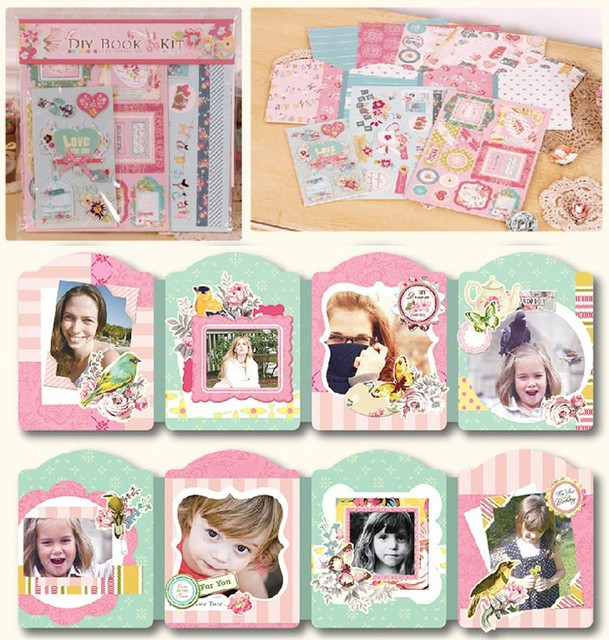 Aliexpress.com : Buy Mini Photo Album Making Kit For Kids,DIY ...
