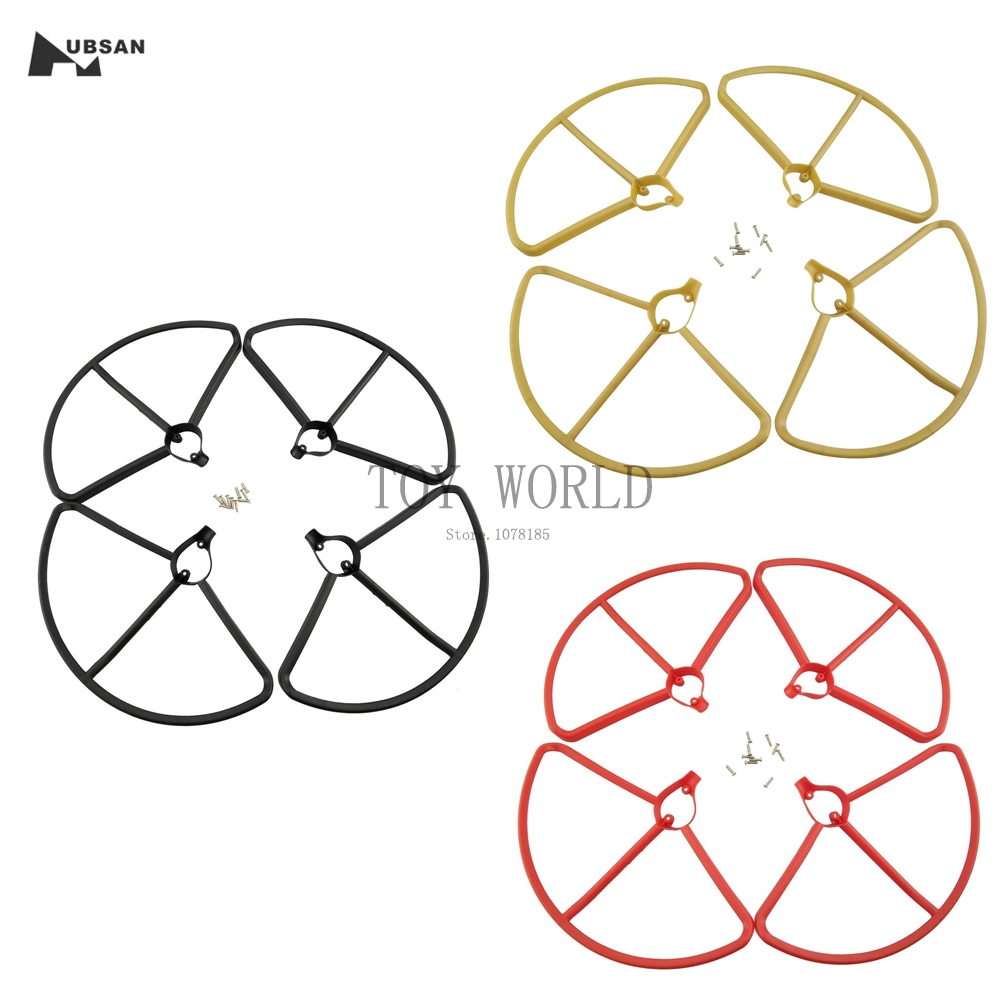 Upgrade 4pcs Propeller Protectors Protective Guard For Hubsan H501S X4 RC Quadcopter Airplane Drone Parts Helicopter