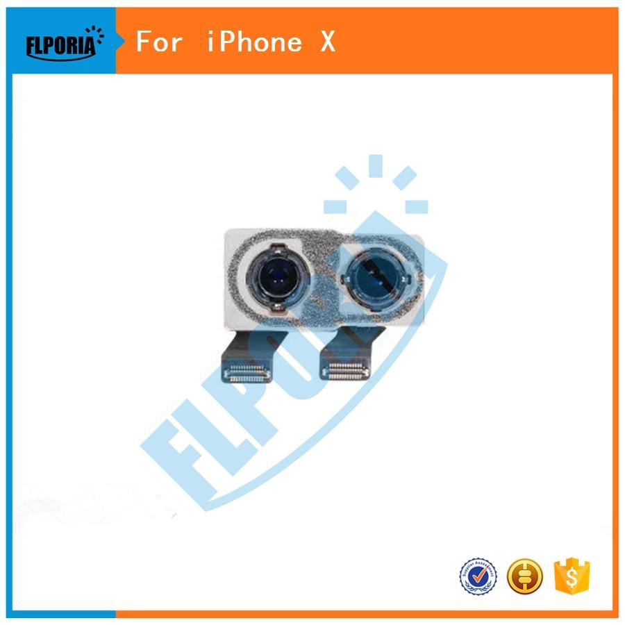 FLPORIA For iPhone X Back Rear Camera Big Camera Module Flex Cable Ribbon Replacement Repair Part
