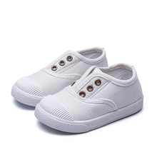 COZULMA Baby Boy Girl Canvas Shoes Spring Summer Kids Soft Bottom Breathable Sneakers for Boys Girls Toddlers Children Shoe Flat