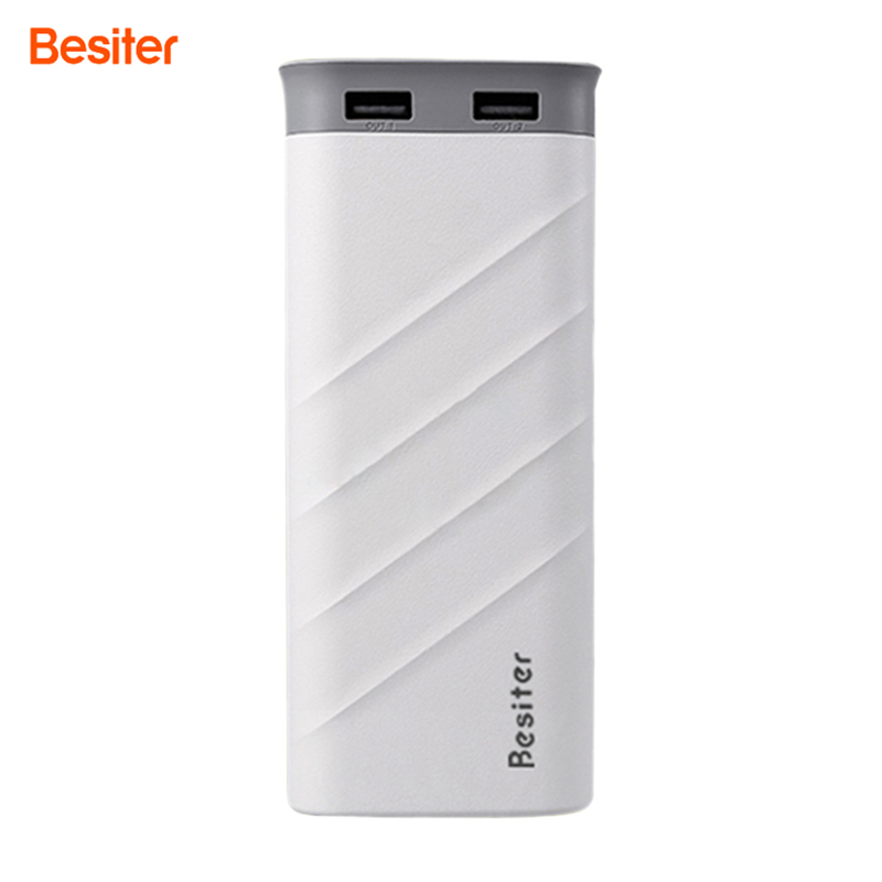 Besiter New 20000mAh Power Bank For Iphone 7 Plus Portable Smartphone Charger Mobile Phones External Battery