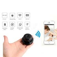 цена на LSmart Home Security MiNi WiFi IP Camera Wireless Small CCTV Infrared Camera Night Vision Audio P2P Motion Detection