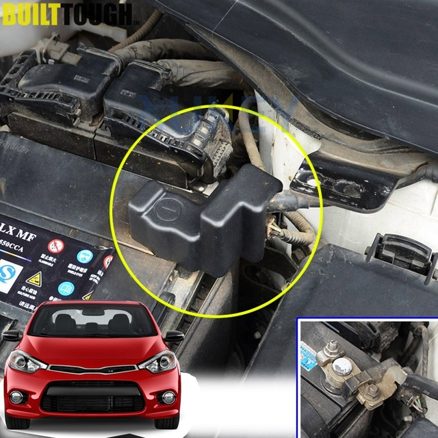 For Kia Forte Forte5 Koup Coupe Cerato 2017 2018 Engine Battery Negative Cable Terminal Abs