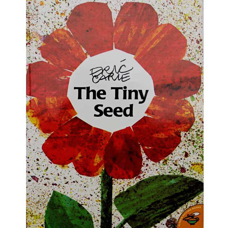 The Tiny Seed By Eric Carle Educational English Picture Book Learning Card Story Book For Baby Kids Children Gifts