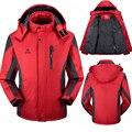 Homens inverno mulheres jaqueta Therma Parkas casacos homens jaqueta de Veludo jaquetas Blusão masculino outerwear À Prova de Vento À Prova D' Água casais