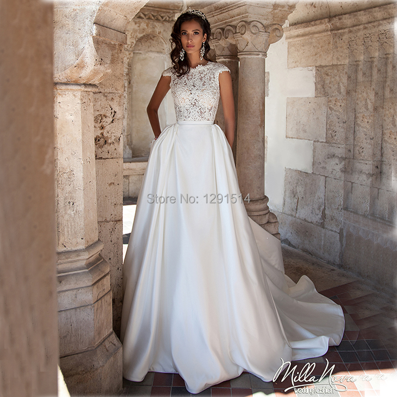 Popular Summer Garden Wedding Dresses-Buy Cheap Summer