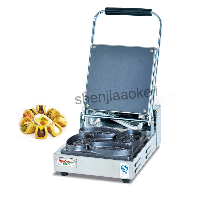 Household roasted waffle maker cakes snack equipment Commercial waffle maker machine electric Scones machine 220v 1009w 1pc
