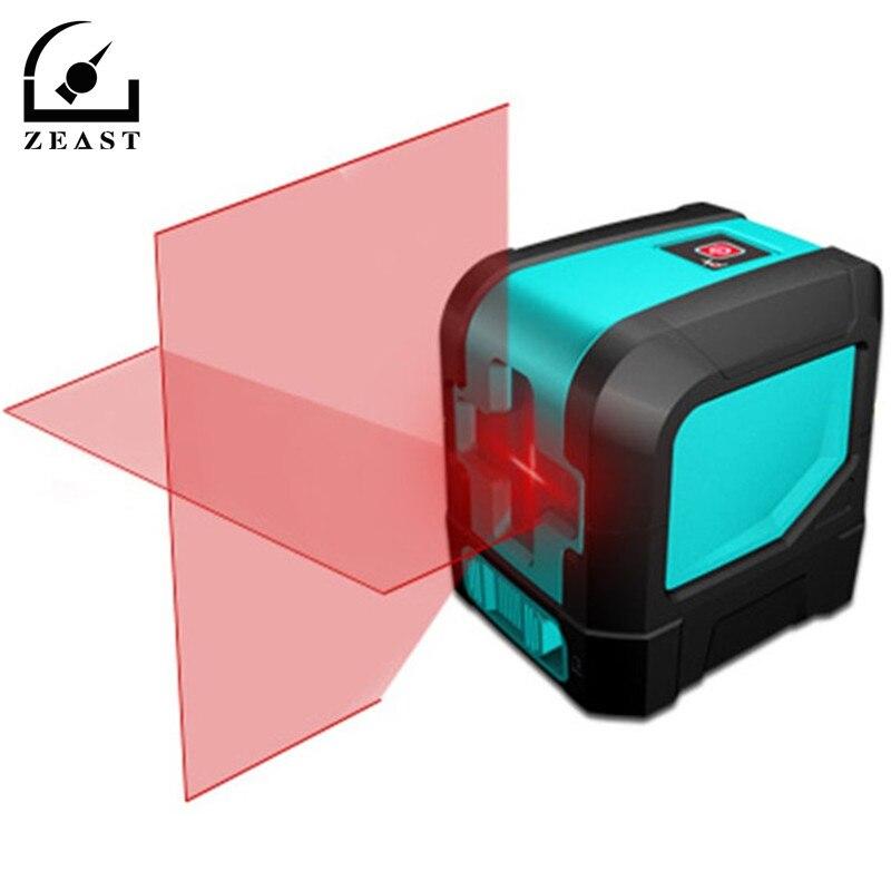 L12R Laser rouge niveau de ligne trépied niveau Laser Horizontal mesure de niveau Laser de précision verticale niveau Laser longueur d'onde rouge 6