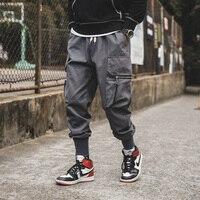 Korean style 5xl harem pants joggers men hip hop streetwear mens side pockets casual sweatpants male trousers asian size CK44