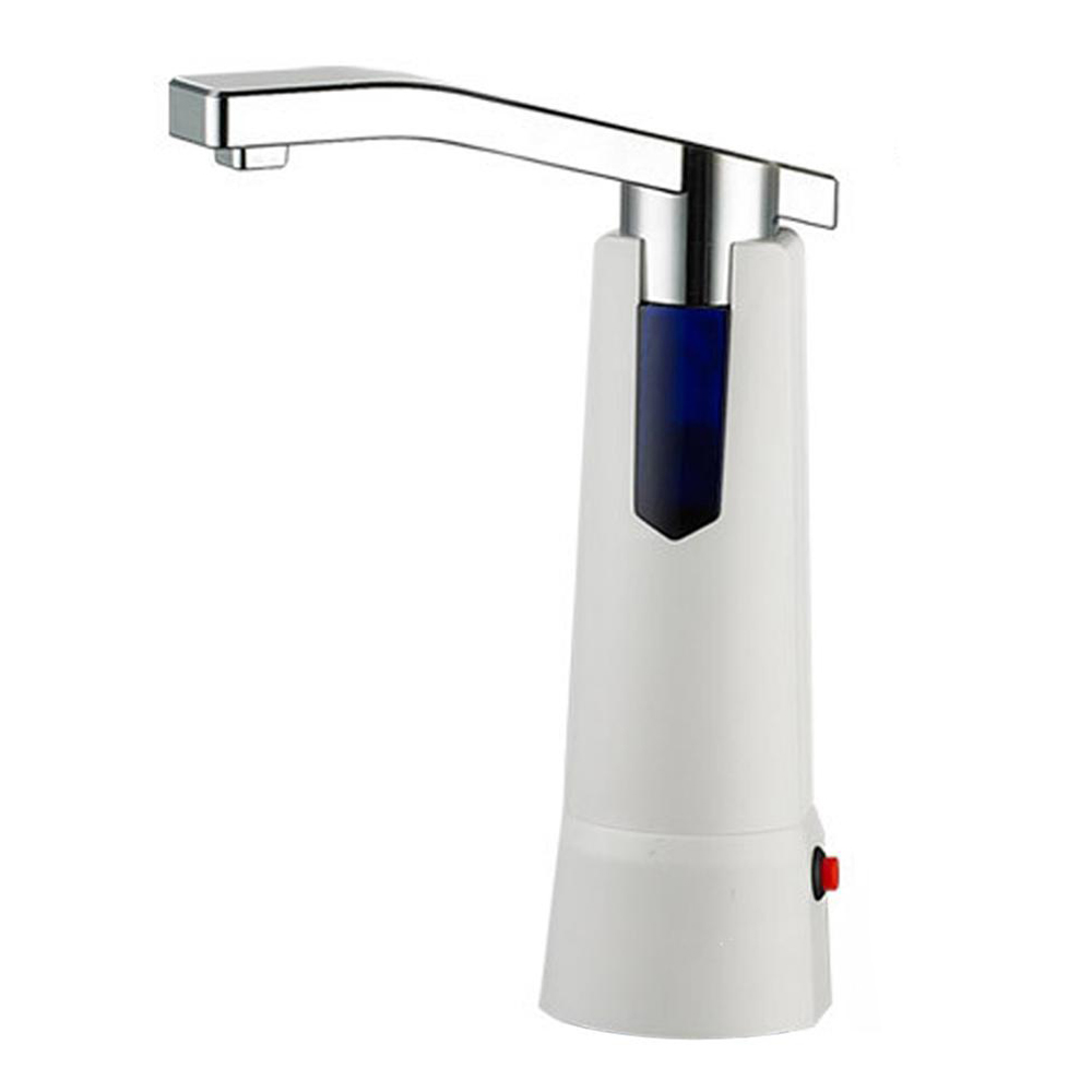 Wireless electric water Bottle pumping device (white) water cooler tap water dispenser parts 304 stainless steel wireless electric bottled water pumping unit mineral water pump