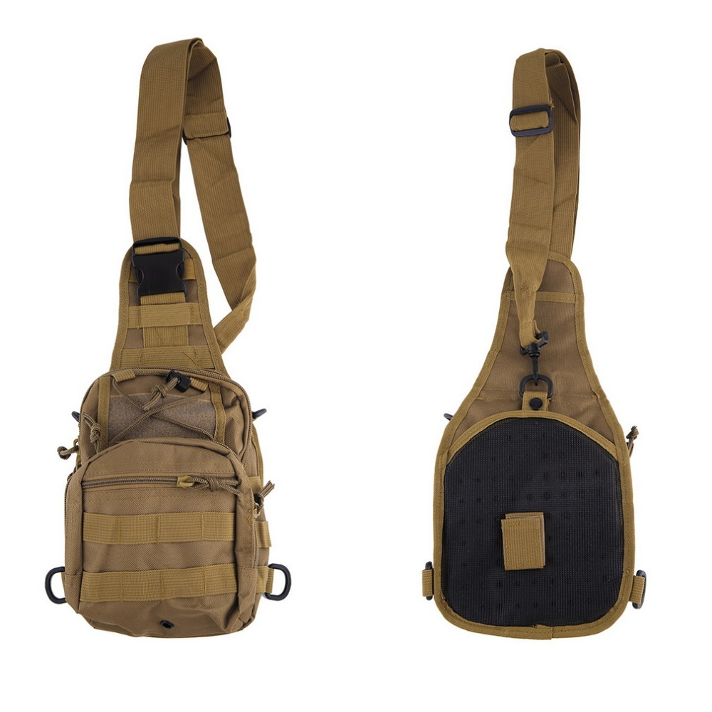 (Ship From Russia & China) Outdoor Military Shoulder Tactical Women Mens Backpack Rucksacks Sport Camping Climbing Travel Bag