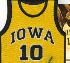 4d305fb08a8 10 B.J. ARMSTRONG Iowa Hawkeyes college basketball jersey yellow ...