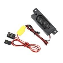 G.T. power Полицейский Автомобиль Голосовая звуковая система симулятор для радиоуправляемого автомобиля Модель автомобиля аксессуары