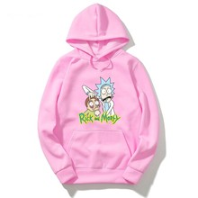 Nuovo arriva rick e morty geek Hoodie uomini donne tee anime divertente Hoody Freddo Rick Morty uomini Estate Anime Hoodie(China)