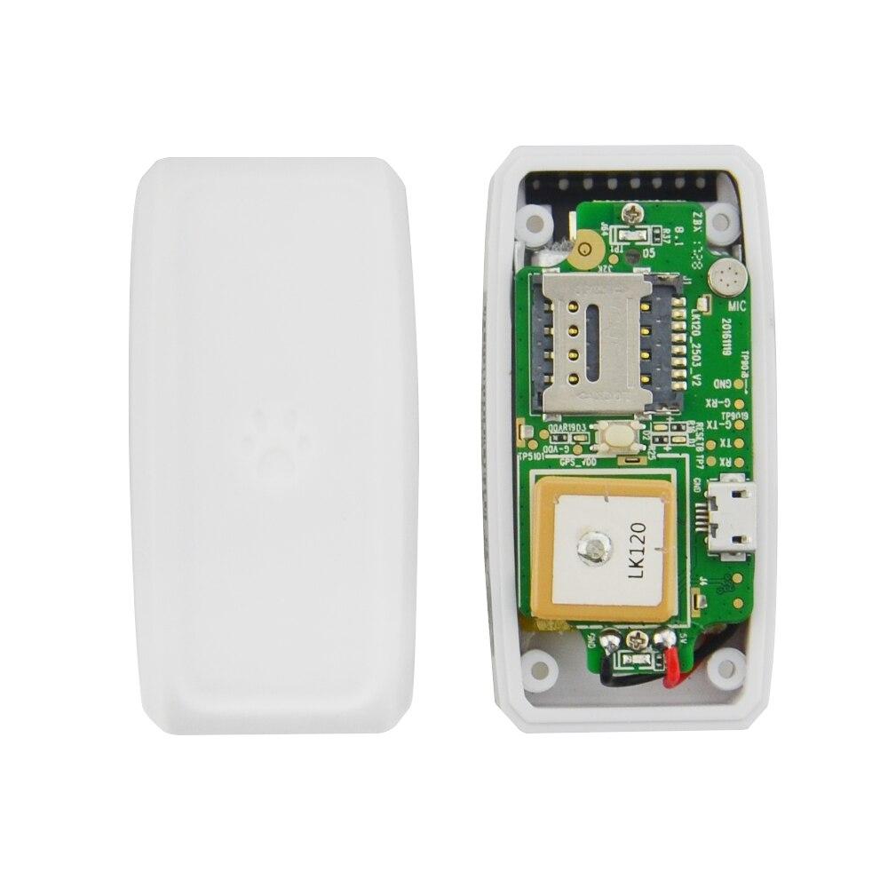 TKSTAR TK911 Mini Wifi Pet Cat Dog GPS Tracker Locator Small Tracking Device Waterproof Real time Google Map Free Web APP Tack