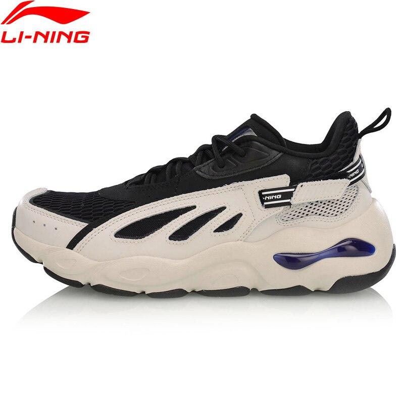 Li-ning hommes papillon 2018 LITE chaussures de loisirs élégant soutien en cuir de vache doublure Fitness Sport chaussures baskets AGLP069 YXB291
