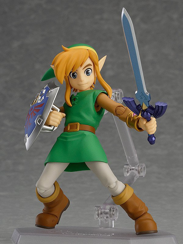 The Legend of Zelda 2: A Link Between Worlds Link Figma EX 032 Deluxe Edition PVC Action Figure Collectible Model Toys Doll 14CM