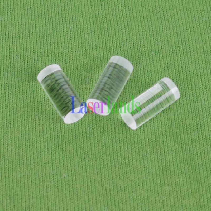 10pcs 11mm 110 Degree Cylinder Optical Glass Line Lens For Laser Module Diode Cylindrical Lens