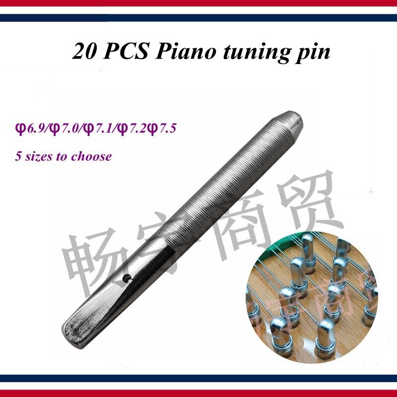 Piano Tuning Tools Accessories - 20 PCS Piano Tuning Pin  Chord Shaft (lathe Thread) String Shaft Pin - Piano Parts