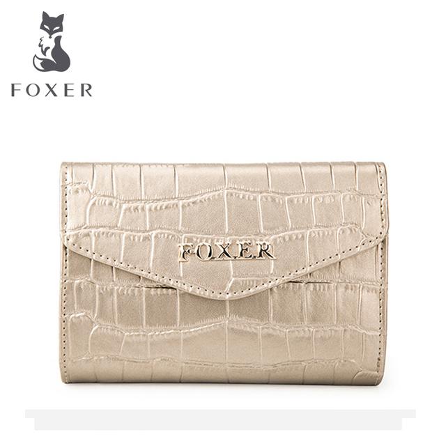 Portfel Damski Foxer Gold