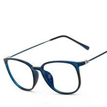 40271024c6 DE MODA DE COREA Nerd ópticos marcos gafas mujeres Vintage de diseñador de marca  grande cuadrado