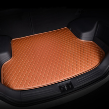 HeXinYan Custom Car Trunk Mats for Lincoln all models Navigator MKT MKX MKC MKS MKZ auto accessories car styling